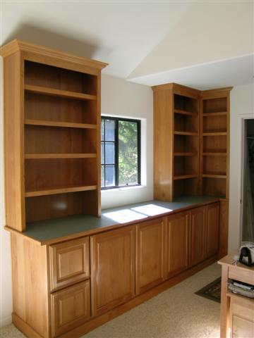 Cabinets Around A Window