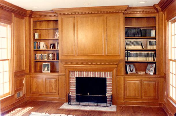 Hearth Shelves